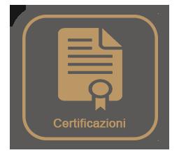 certificazioni spenti