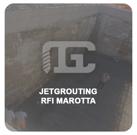Jetgrouting RFI MAROTTA acceso
